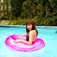 asian woman pool bikini