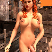 Shemale Redhead Casting