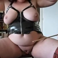 Amateur spanking and caning