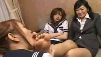 asian foot girls,female foot slave,lesbian foot domination,lesbian foot worship
