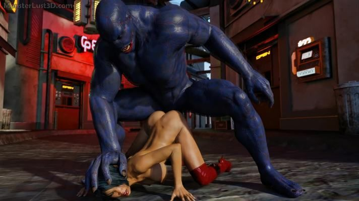 VIDEO Hypercomics 3D: Attack of the blue mutant