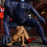 VIDEO Hypercomics 3D: Attack of the blue mutant