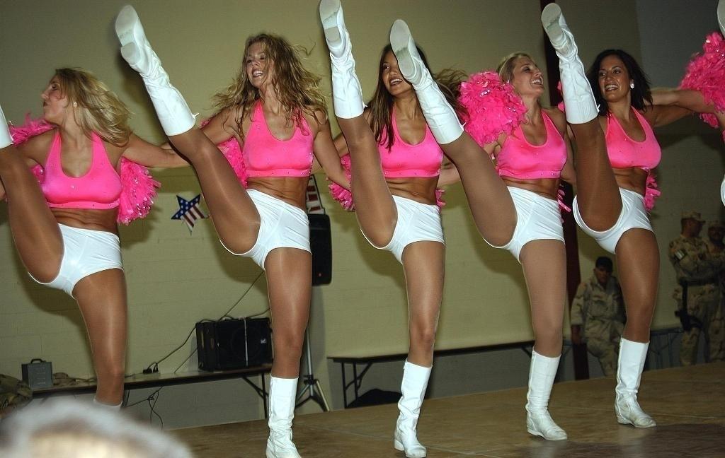 Naughty pantyhose dance class teen 14