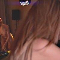 Sexy female college dj in hot threesome