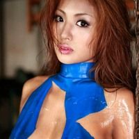 jav shiny latex bikini