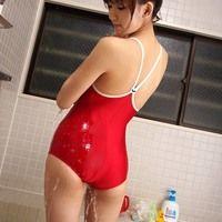 asain sexy red bikini