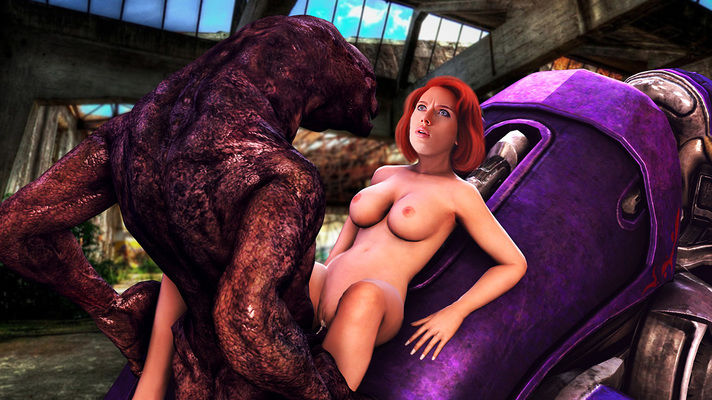 Scarlett fucked by monsters nightmare fantasy hentai