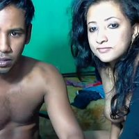 Indian couples at their best to show