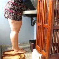 Butt ButtCleaning Lady - negrofloripa