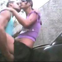 Sexo na rua e na casa de praia (outdoor sex in Rio De Janeiro)
