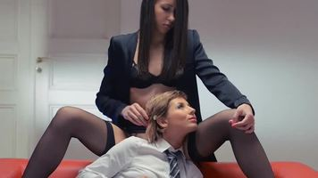 lesbians,pantyhose,strapon,stockings,high heels,teacher,cunnilingus,realdoe,facefucking,college girl