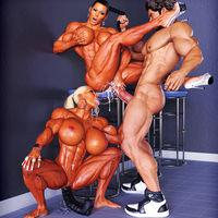 3D Muscle Porn Mix 007